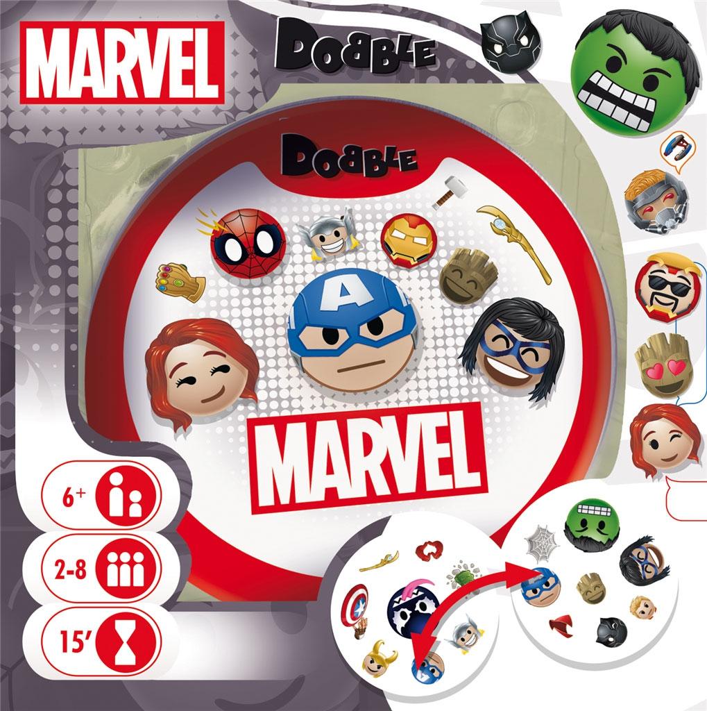 Dobble Marvel Emoji
