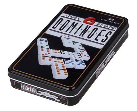 Domino Double 6 Boite Métal