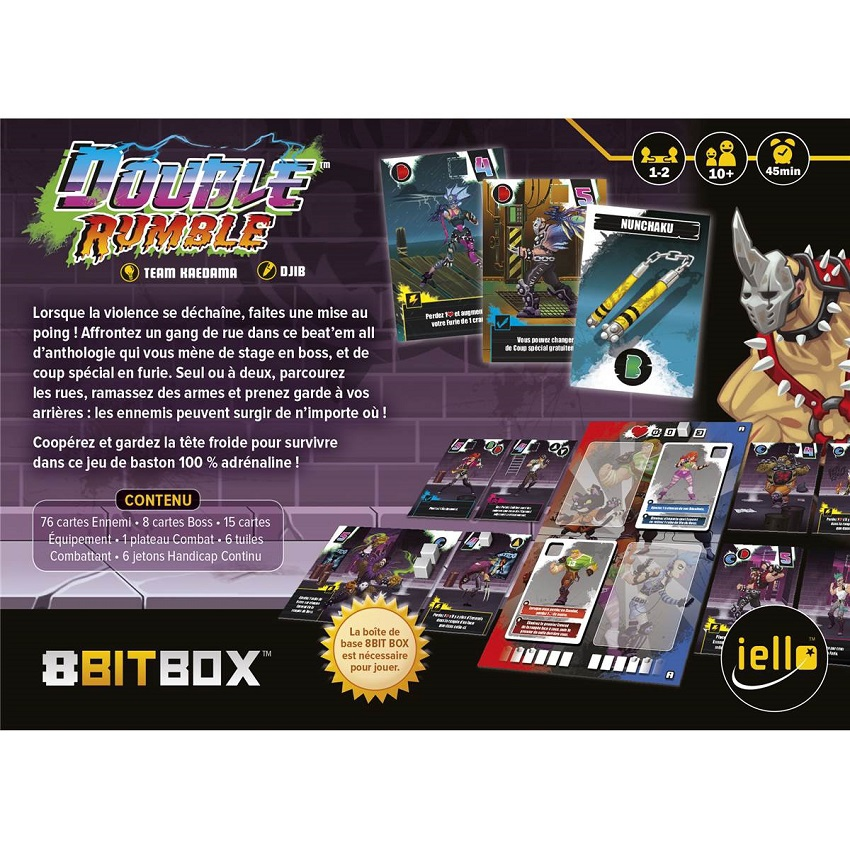 Double Rumble - Extension 8Bit Box