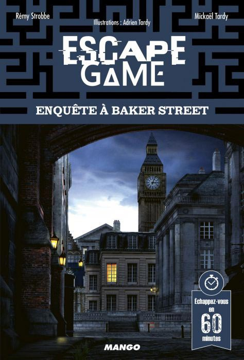 Enquête à Baker Street - Escape Game Book
