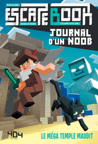 Escape Book Junior - Journal d\'un Noob - Le Mega Temple Maudit