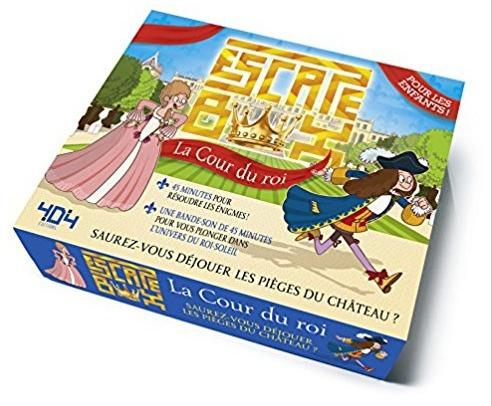Escape Box : La Cour du Roi (Junior)