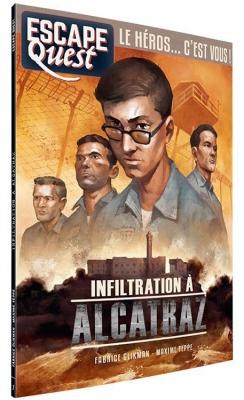 Escape Quest - Infiltration à Alcatraz