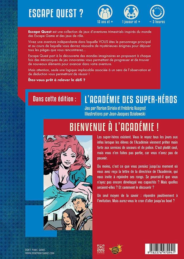 Escape Quest - L\'Académie des Super Héros
