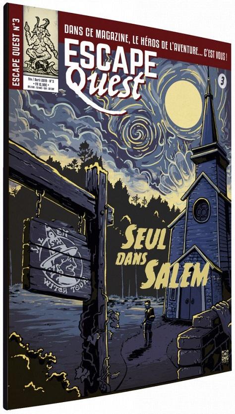 Escape Quest - Seul dans Salem