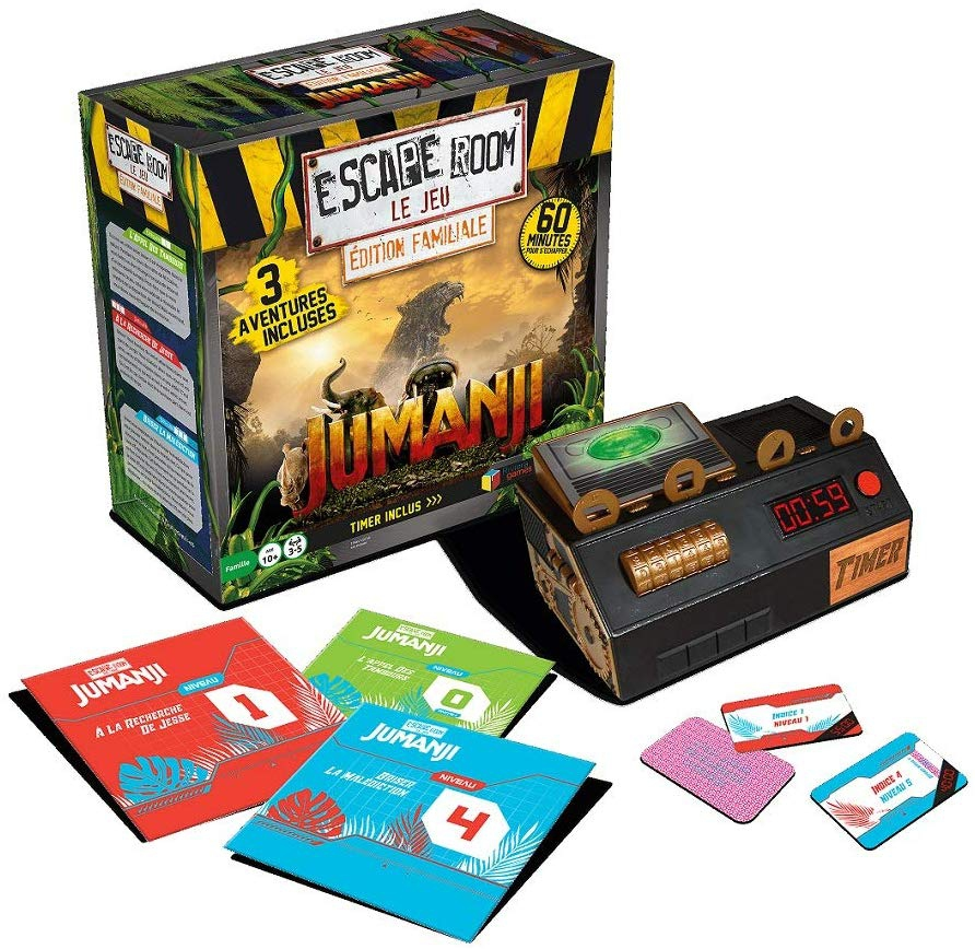 Escape Room - Jumanji - 3 Aventures