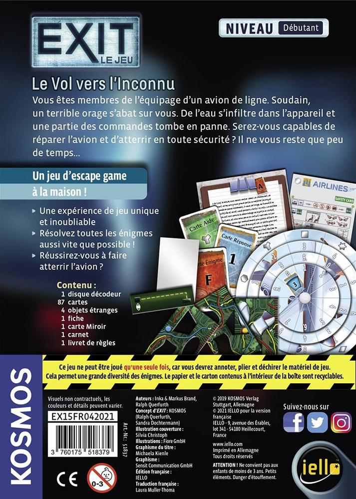 Exit : Le Vol vers l\'Inconnu