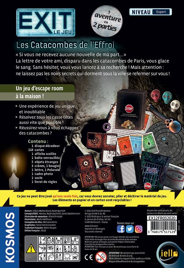 Exit : Les Catacombes de l\'Effroi