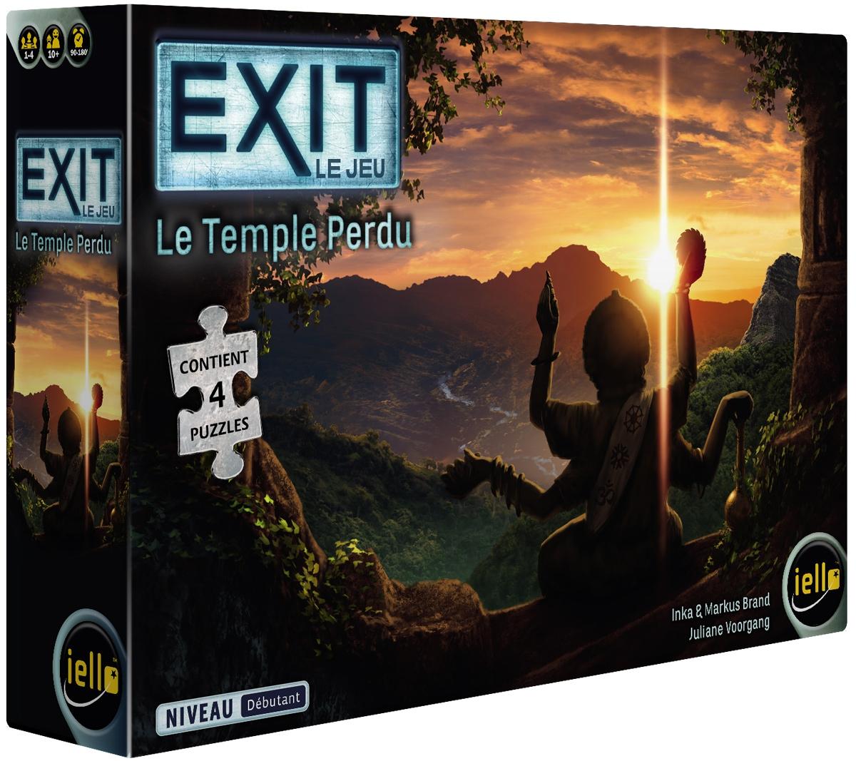 Boite de Exit Puzzle - Le Temple Perdu