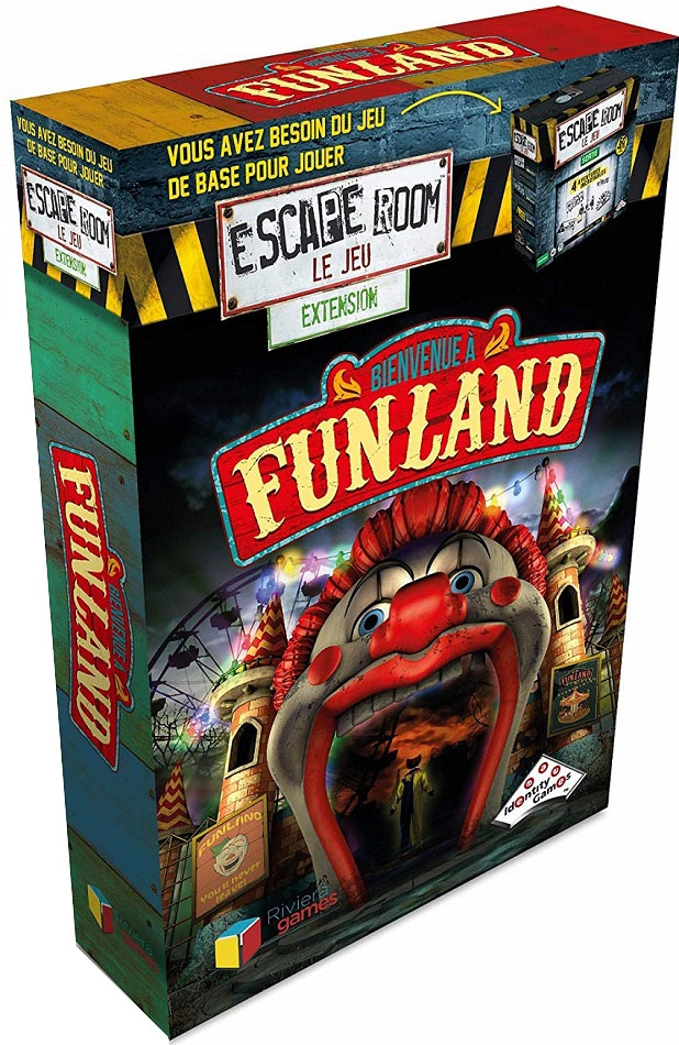 Funland Extension Escape Room - Le Jeu