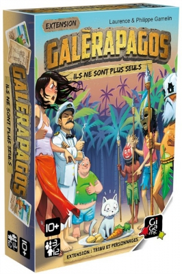 Galèrapagos : Tribus et Personnages