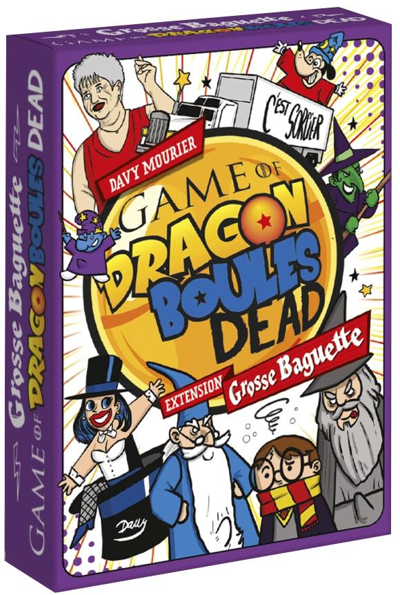 Game Of Dragon Boules Dead - Extension Grosse Baguette
