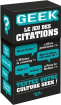 Geek : Le Jeu des Citations