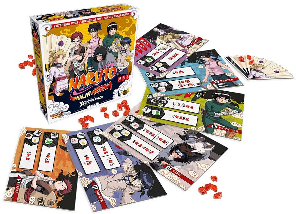 Genin Pack - Naruto Ninja Arena (Ext.)
