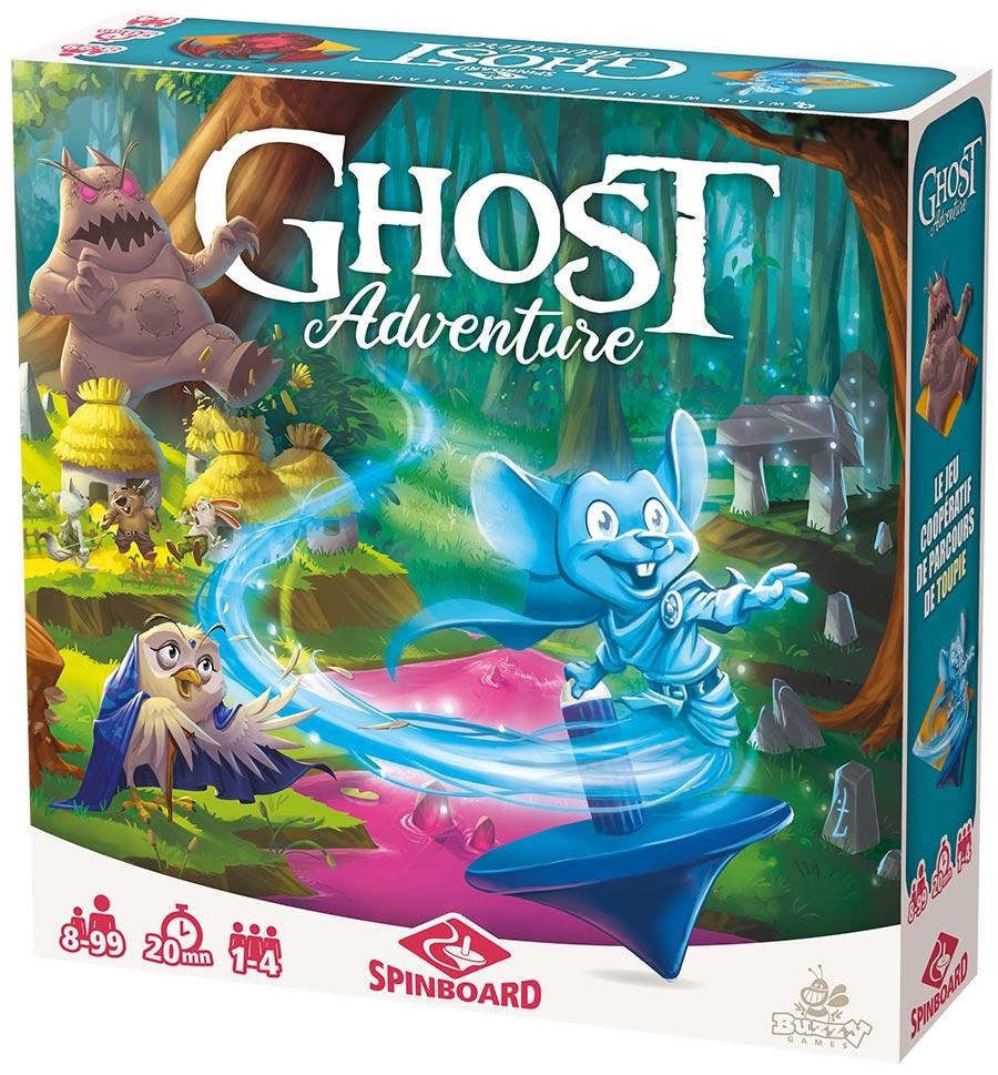 Boite de Ghost Adventure