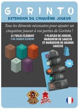 Gorinto - Extension 5ème Joueur