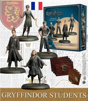 Gryffindor Students - Ext Harry Potter Miniature Adventure Game