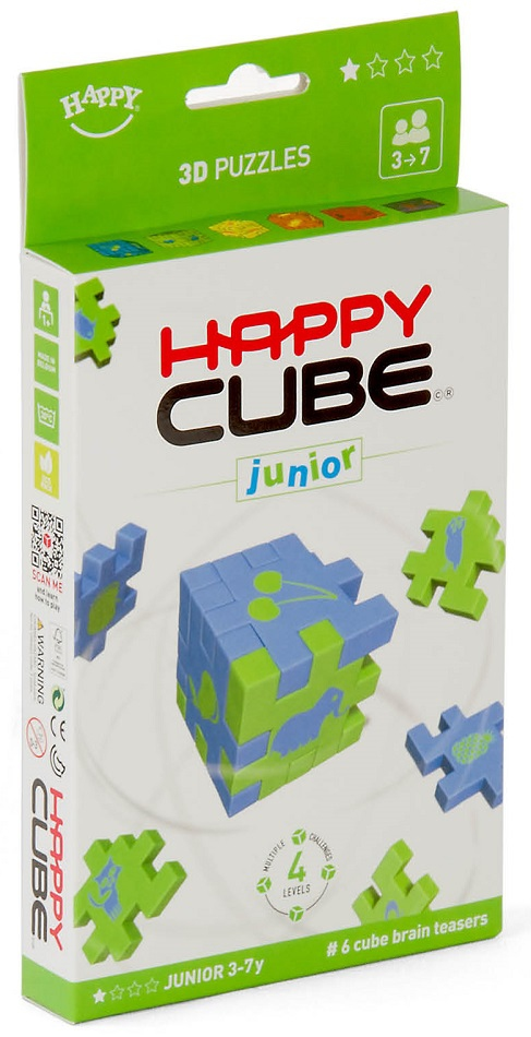 Boite de Happy Cube - Junior - Pack 6 couleurs