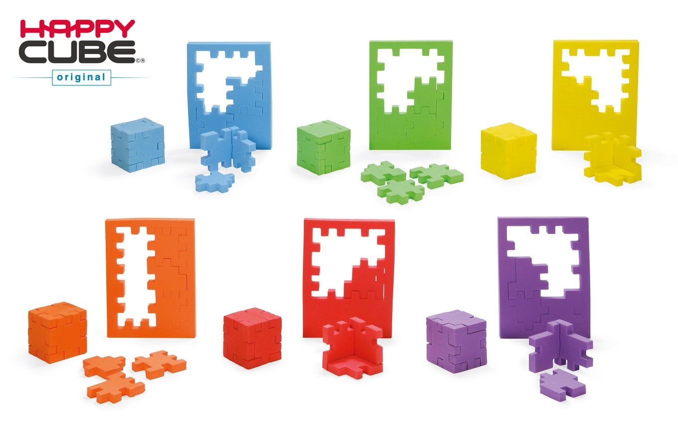Happy Cube - Original - Pack 6 couleurs
