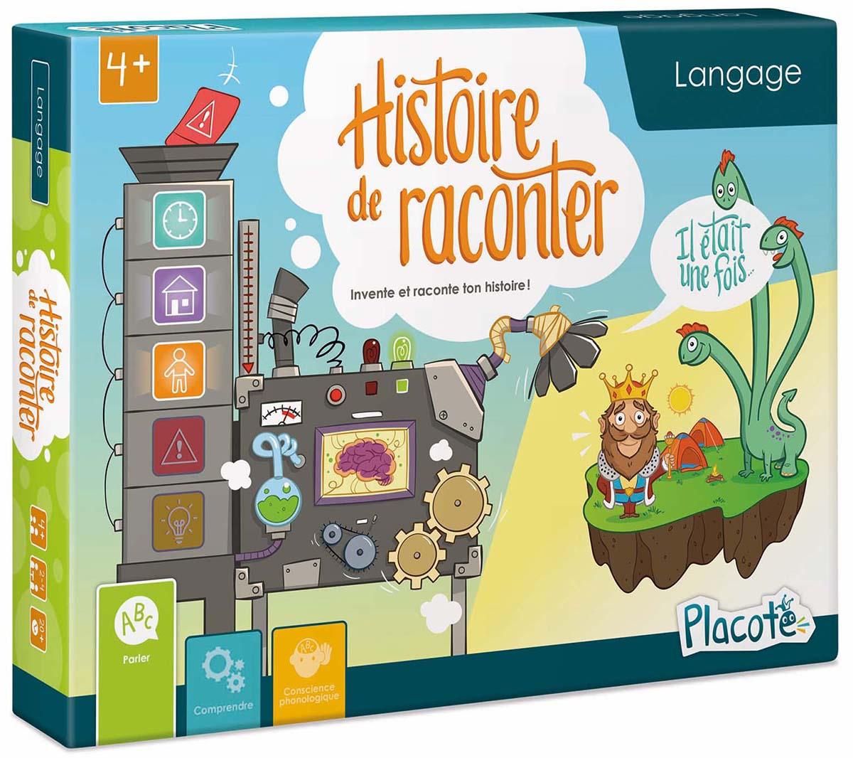 Boite de Histoire de Raconter