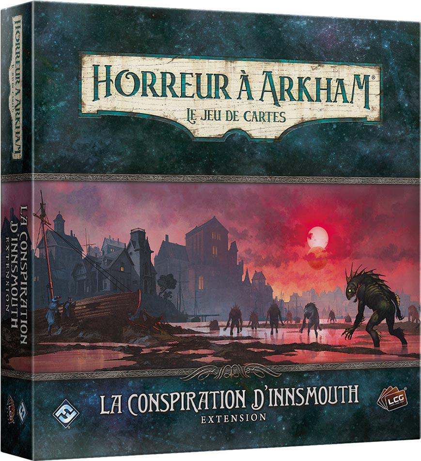 Horreur à Arkham JCE : La Conspiration d\'Innsmouth