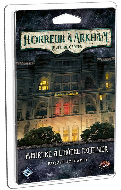 Horreur à Arkham JCE : Meurtre à l\'Hôtel Excelsior