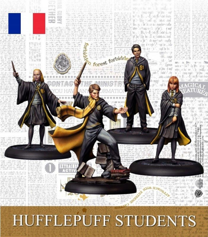 Hufflepuff Students - Ext Harry Potter Miniature Adventure Game