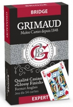 Jeu de Bridge - Grimaud Expert Rouge