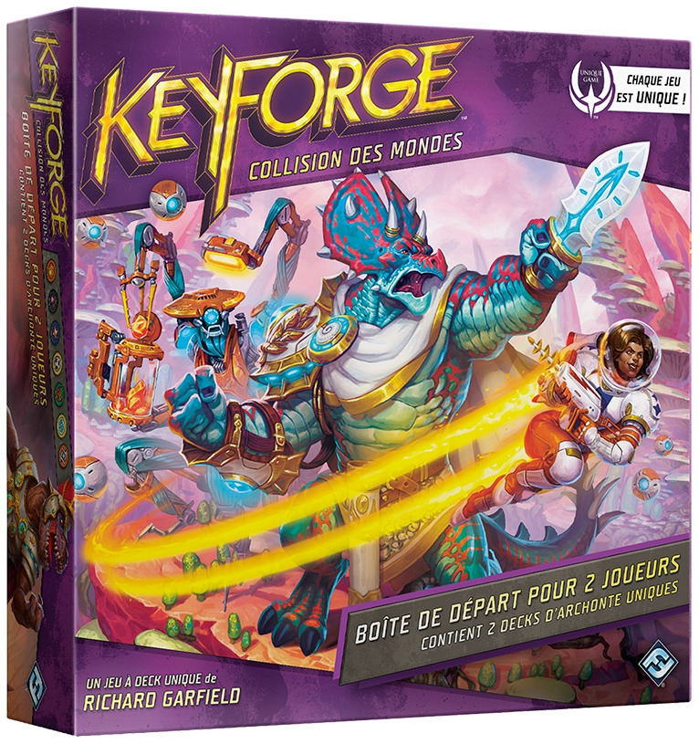 Keyforge : Collision des Mondes (Set de Base)