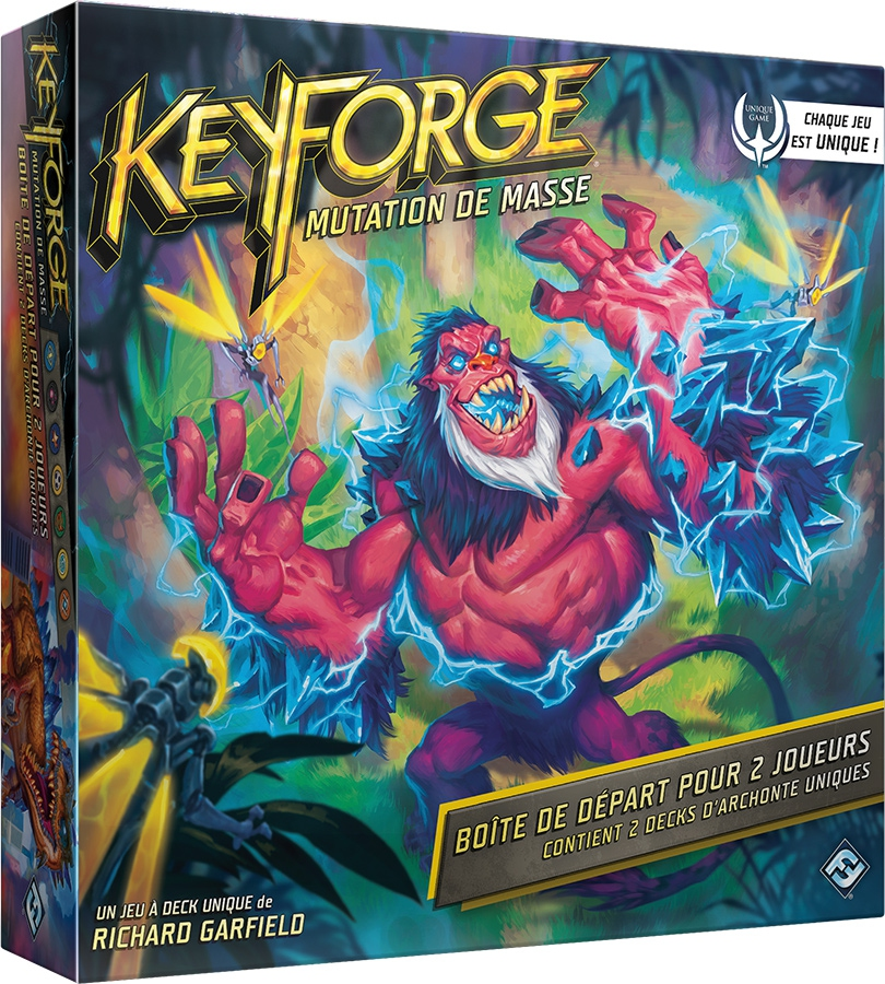 Keyforge : Mutation de Masse (Set de Base)