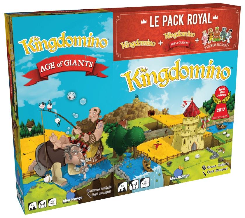Kingdomino: Le Pack Royal