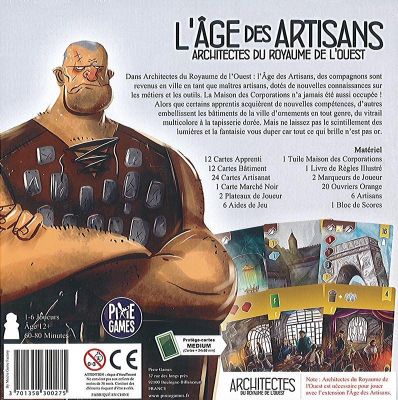 L\'Âge des Artisans (Ext. Architectes du Royaume de L\'ouest)