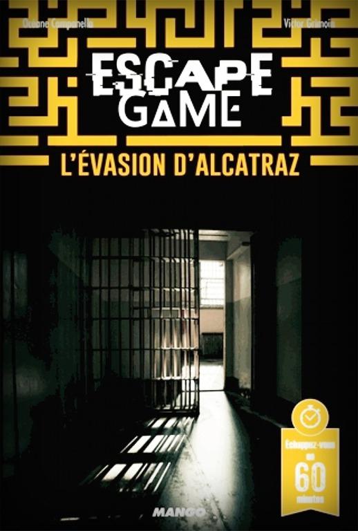 L Evasion D Alcatraz Escape Game Book