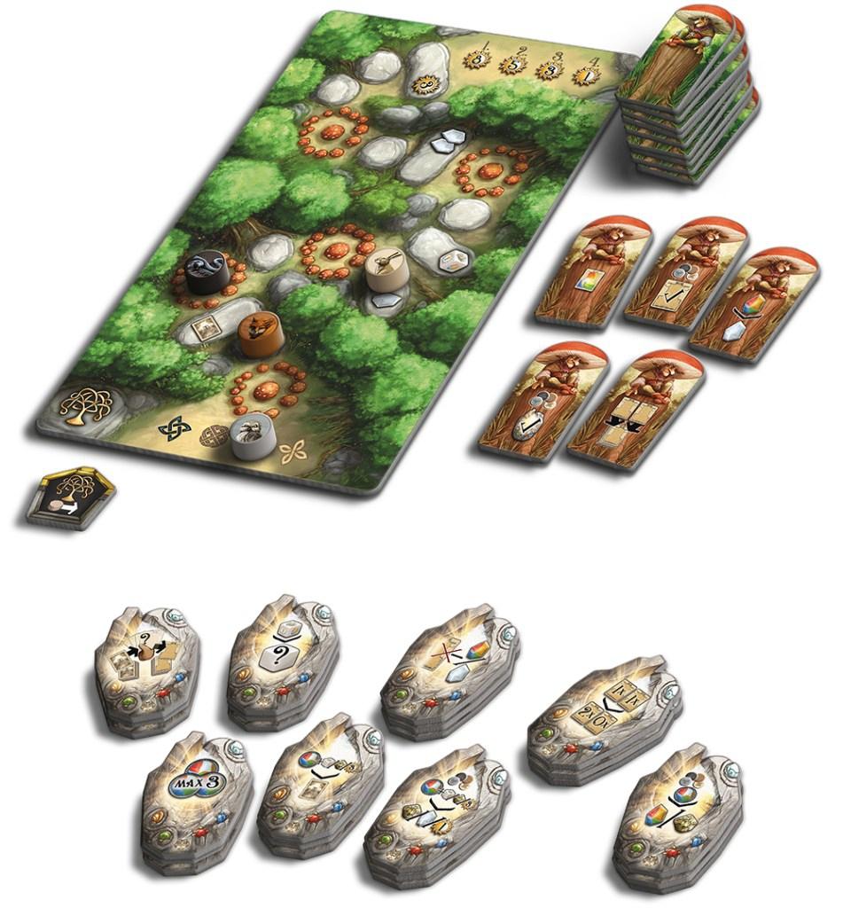 La Forêt Enchantée - Rune Stones (Ext.)