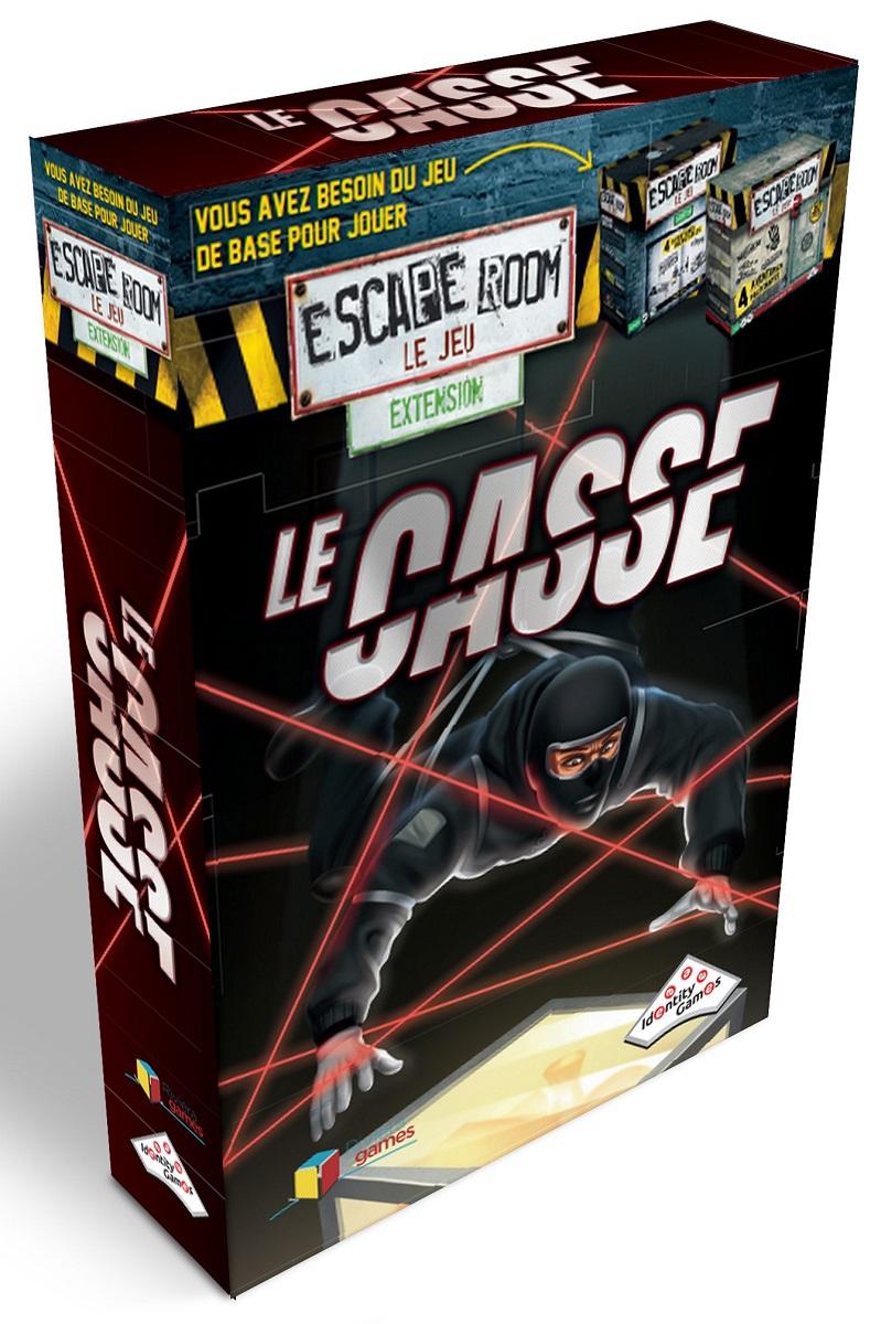 Le Casse - Extension Escape Room - Le Jeu