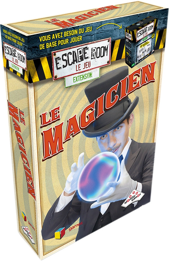 Le Magicien - Extension Escape Room - Le Jeu