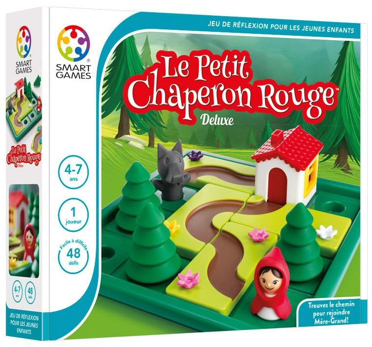le petit chaperon rouge deluxe jeu smart games boutique. Black Bedroom Furniture Sets. Home Design Ideas
