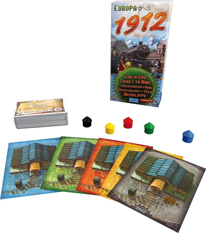 Les Aventuriers du Rail - Europa 1912