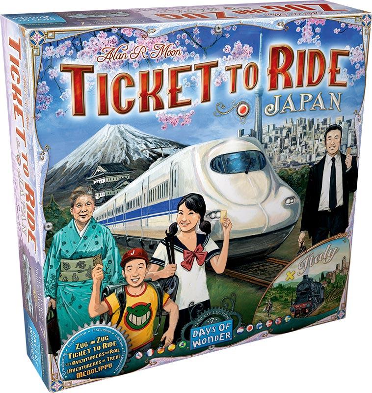 Les Aventuriers du Rail : Italie & Japon