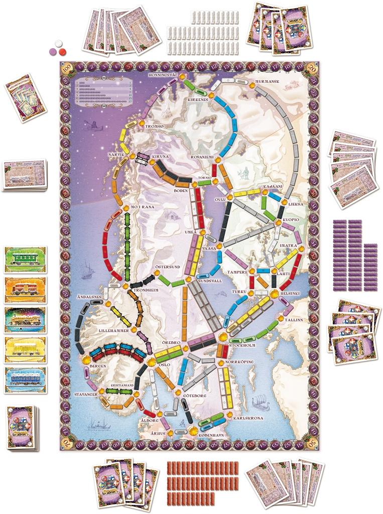 Les Aventuriers du Rail - Scandinavie