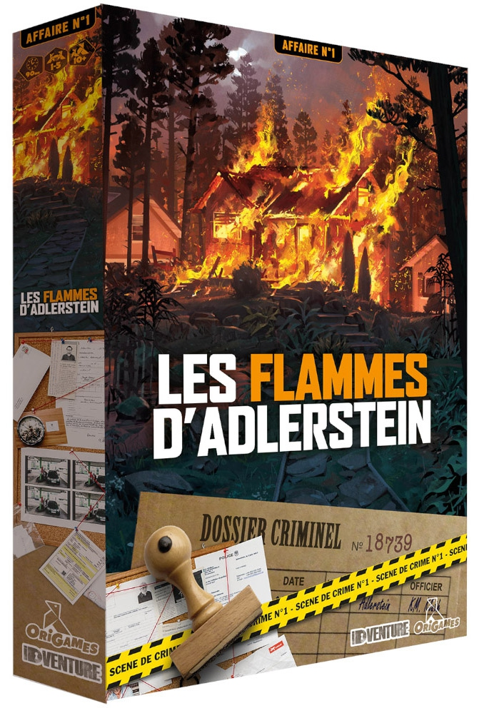 Les Flammes d\'Adlerstein