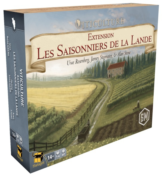 Boite de Les Saisonniers de la Lande - Ext. Viticulture
