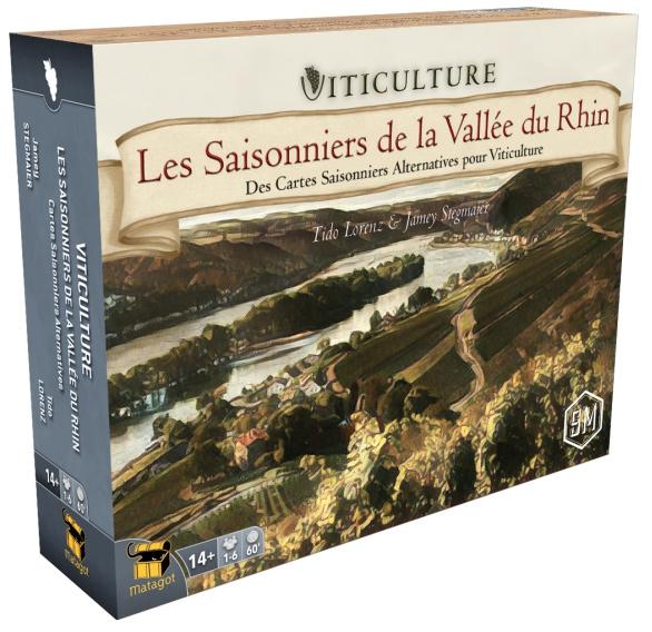 Les Saisonniers de la Vallée du Rhin - Ext. Viticulture