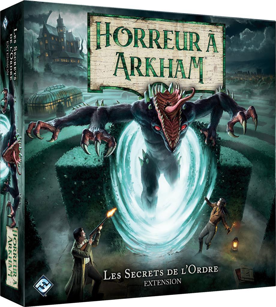 Les Secrets de l\'Ordre (Ext. Horreur à Arkham 3ème éd.)