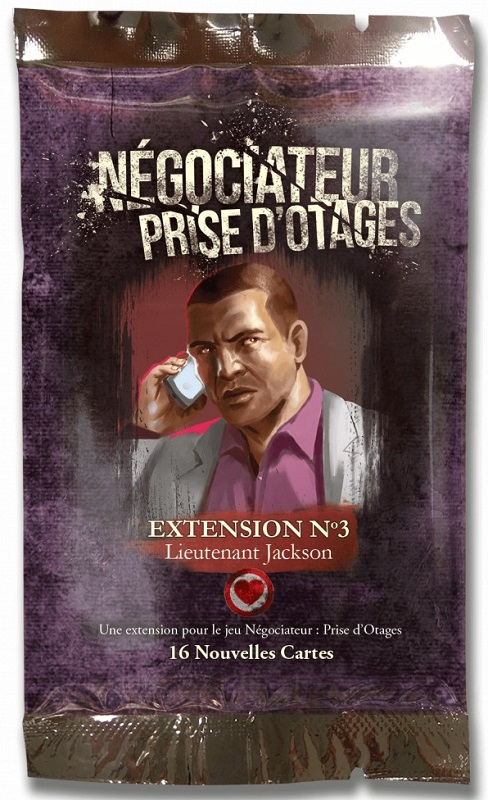 Lieutenant Jackson - Négociateur Prise d\'Otages