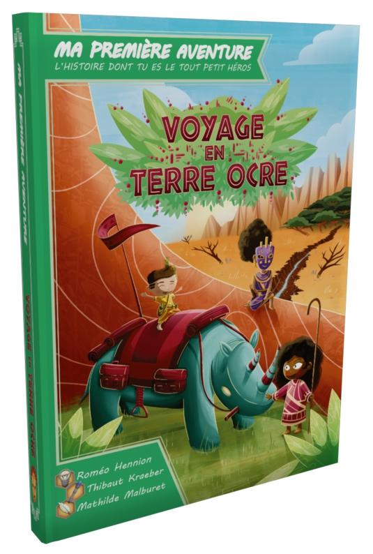 Ma 1ère Aventure: Voyage en Terre Ocre