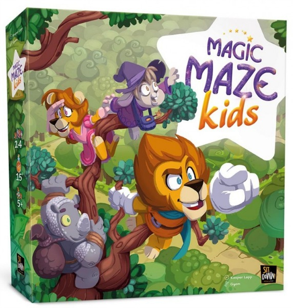 Boite de Magic Maze Kids