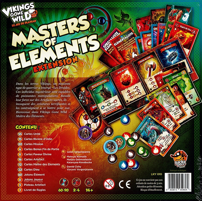 Masters Of Elements - Extension Vikings Gone Wild