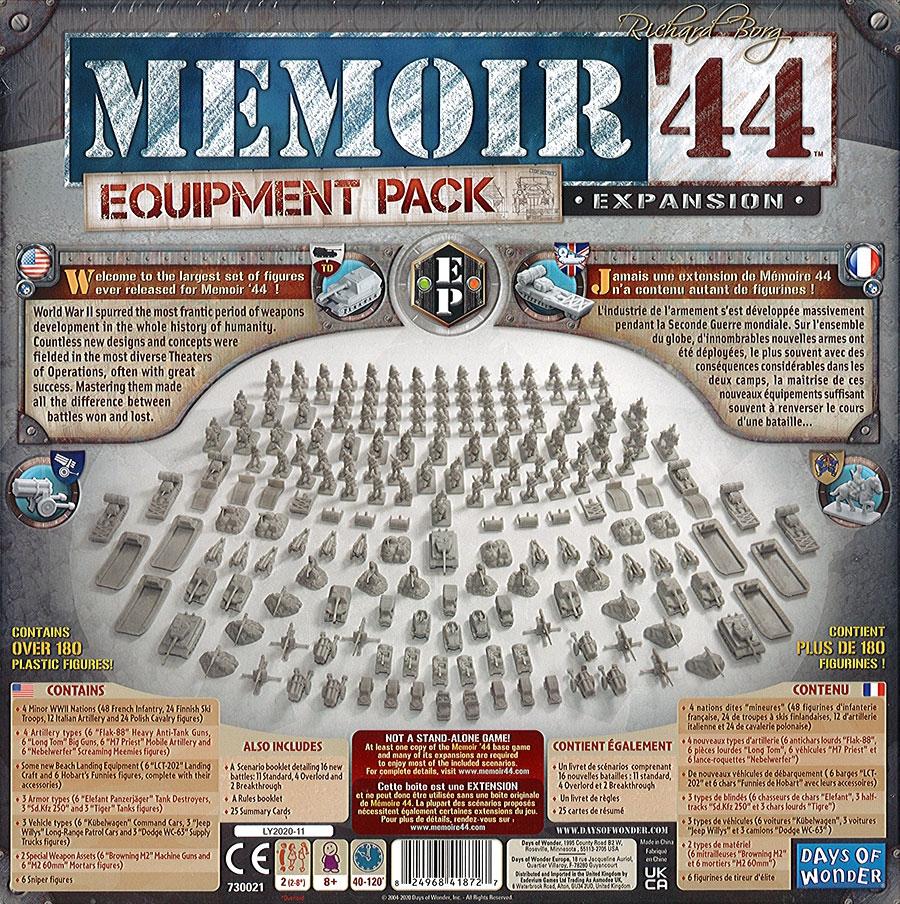 Mémoire 44 - Equipment Pack