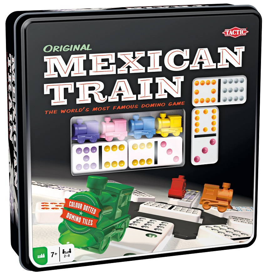 mexican train jeux de soci t acheter sur. Black Bedroom Furniture Sets. Home Design Ideas